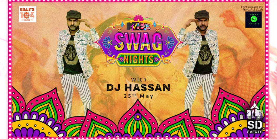 MTV Beats Swag Night With DJ Hassan