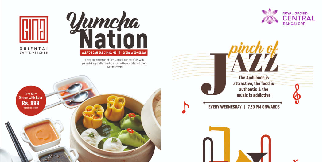 Yumcha With A Pinch Of Jazz