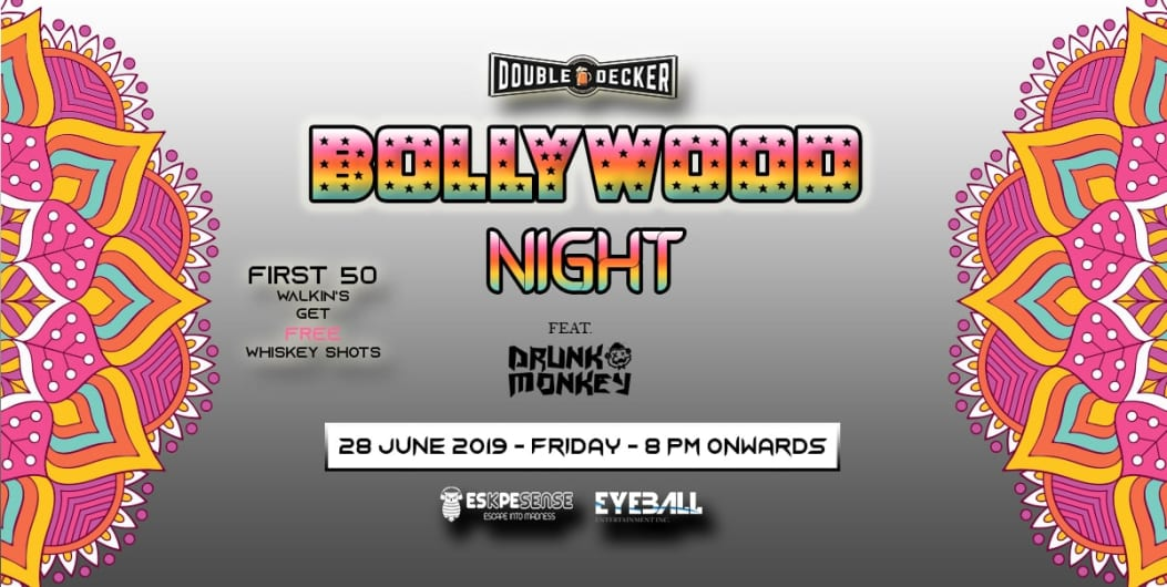 Bollywood Night at Double Decker