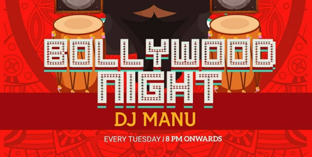 Bollywood Tuesday Night at Red Rhino With DJ Manu