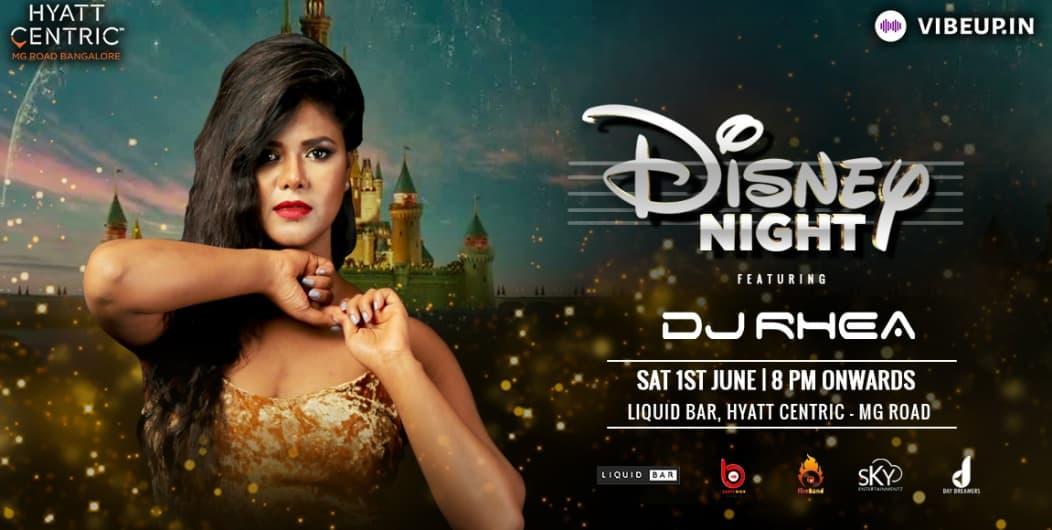 Bollywood Disney Party At hyatt