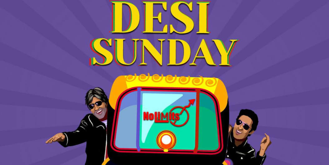 'Desi Sunday' Ft. DJ Hussain. A Night of Bollywood Music.