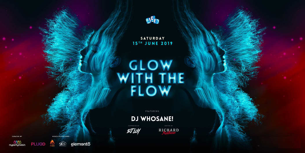 Glow With The Flow - Neon Theme Party