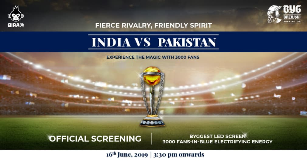 Fans In Blue - Official Screening Of Ind vs Pak ICC World Cup Ma