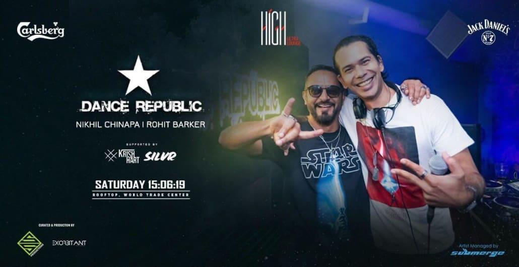 Dance Republic - Nikhil Chinapa & Rohit Barker Live