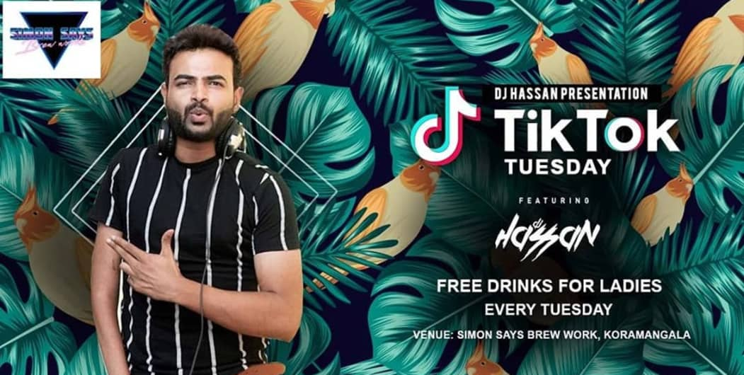 TIK-TOK Tuesdays At Simon Says Brew Works Ft DJ Hassan
