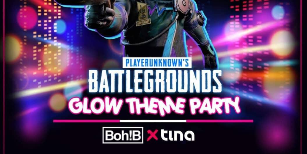 PUBG-Theme Party At Aqua(neon Edition)