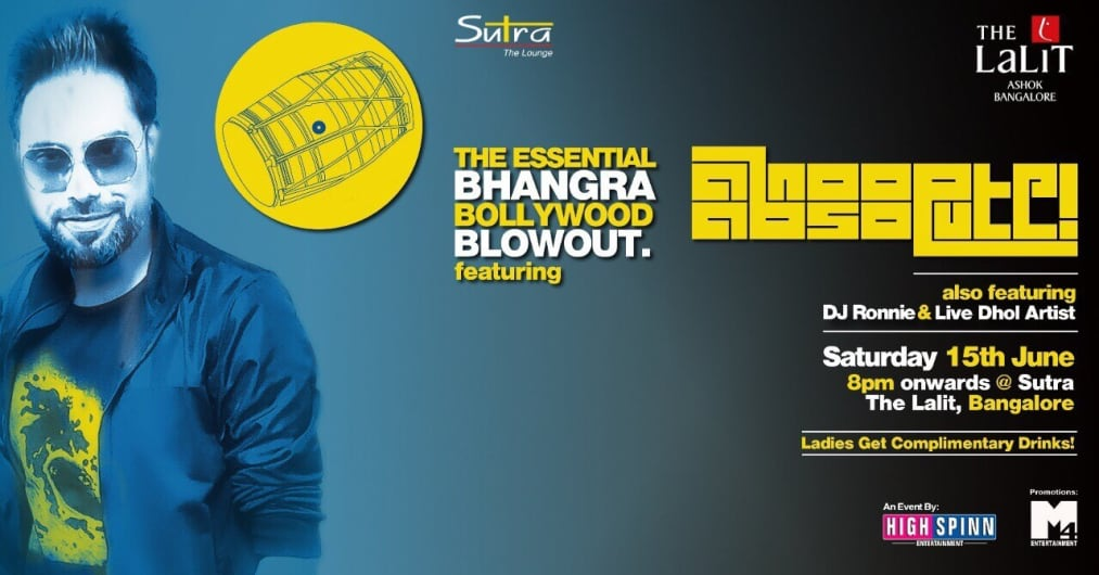 The Essential Bhangra Bollywood Blowout Ft. DJ Anoop Absolute