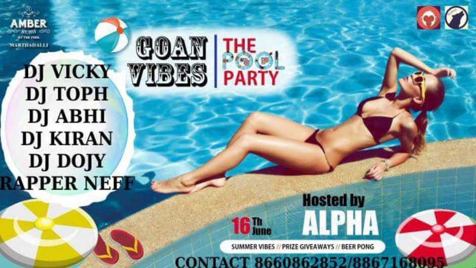 Goan Vibes - The Pool Party