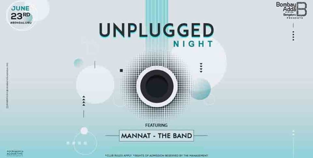 Unplugged Night Ft. Mannat - The Band