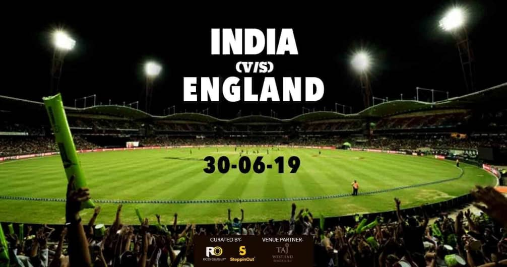 IND Vs ENG Match Screening