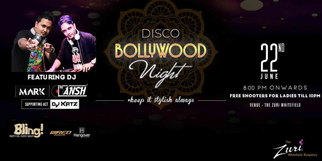 Disco Bollywood Night
