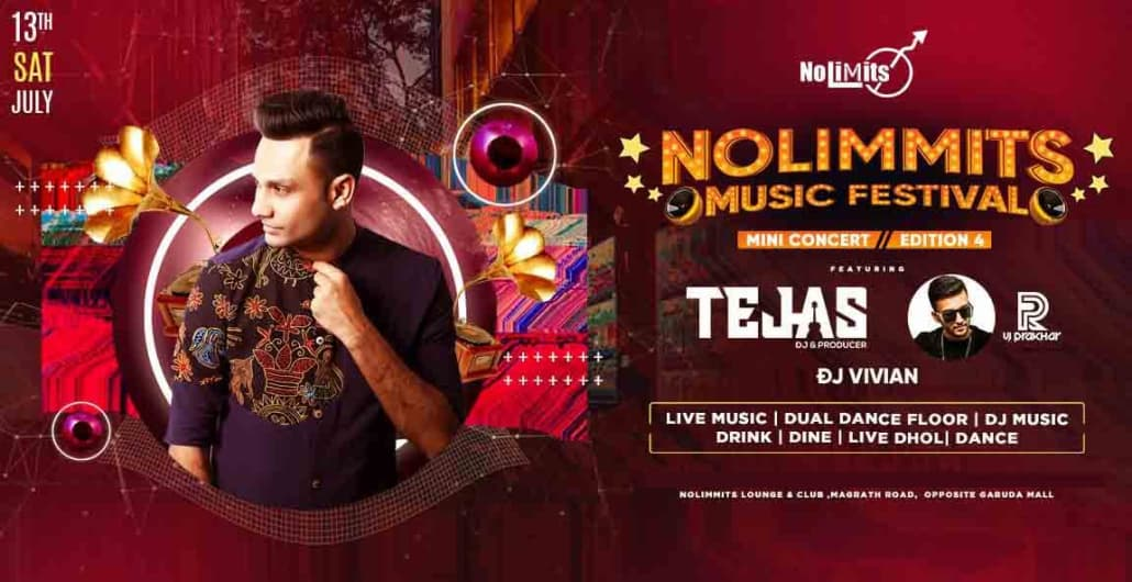 No Limmits Musical Festival Edition 4 - With DJ Tejas