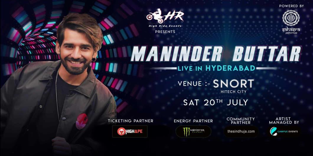 Maninder Buttar Live In Hyderabad