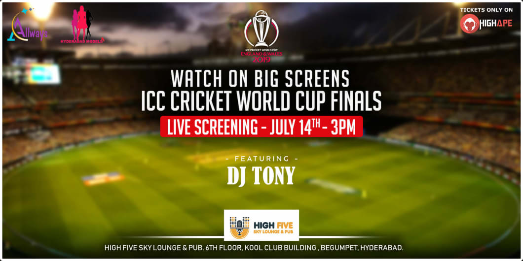 ICC World Cup Finals - Live Screening