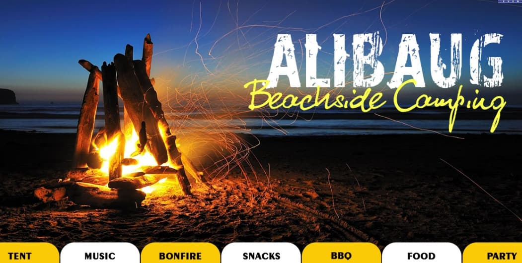 Alibaug Beachside Camping And Overnight Stay
