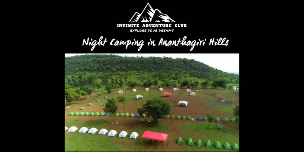 Weekend Night Camping At Ananthagiri Hills at Anantagiri ...