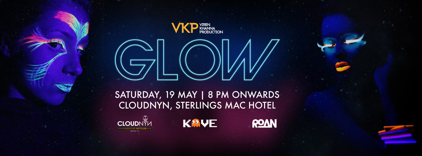 VKP Presents Glow Party at CloudNYN