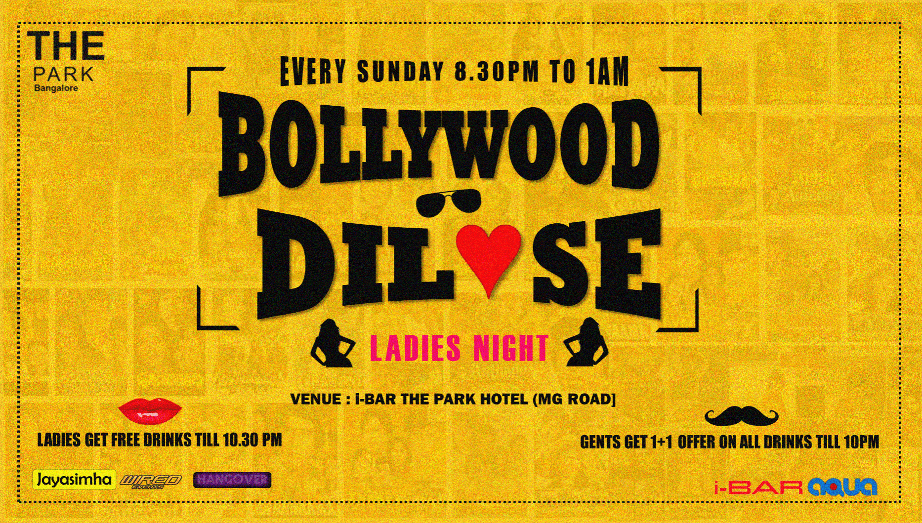 Sunday Ladies Night Bollywood DIL SE