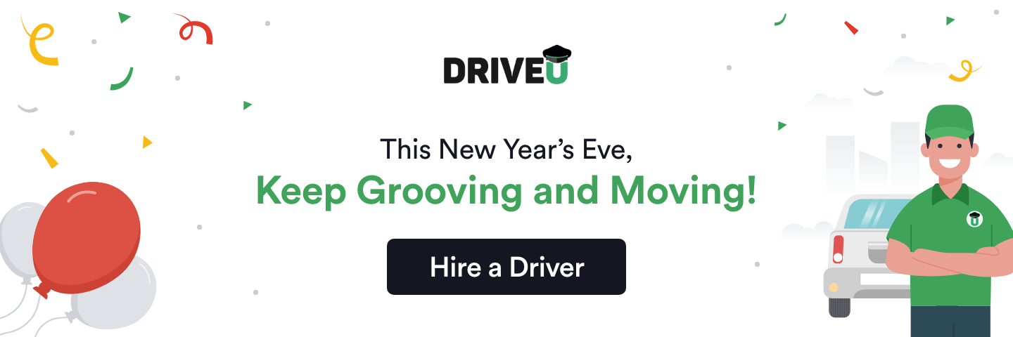 HighApe brings exclusive DriveU Offers - Hire Chauffeur On New Year's Eve