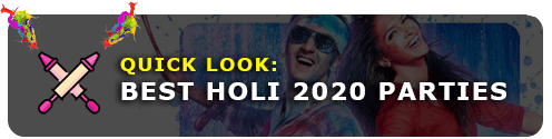 Explore Holi events & parties 2020