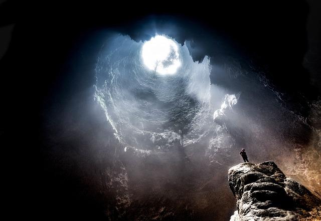 vertical cave