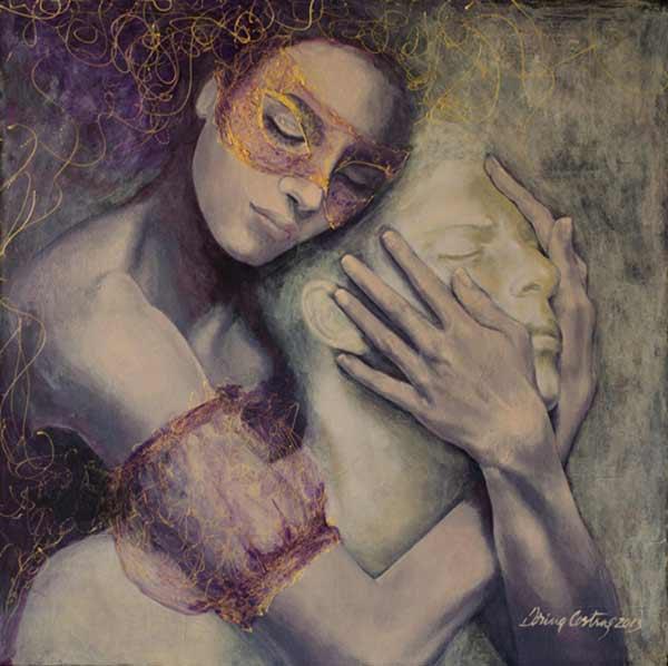 Dorina Costras paintings10 lfjuqw kohuvf Βάζεις μαζί δύο ανθρώπους και ο κόσμος αλλάζει