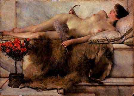 Tepidarium Lawrence Alma Tadema 1836 1912 n36mvv rzetqt Μπωντλαίρ, ένας ποιητής διαπιστευμένος στην Κόλαση