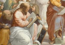 Pythagoras Raphaels School of Athens 218x150 rema