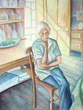 lonely aged woman bwri69 Άφραγκη και ράκος