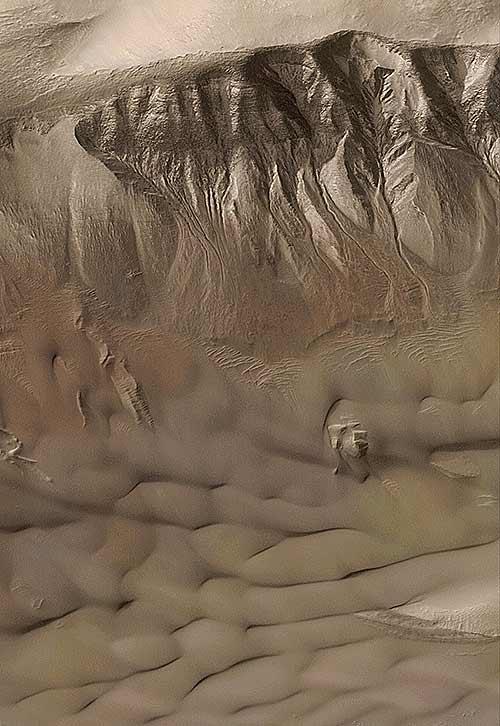 marsgullies Οι περιπέτειες της ανθρωπότητας στον πλανήτη Άρη