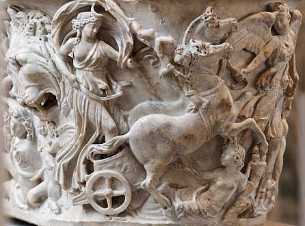 446px Sarcophagus Selene Endymion Met 47.100.4ab n03 Ελληνικοί μύθοι και τα μυστήρια της Σελήνης