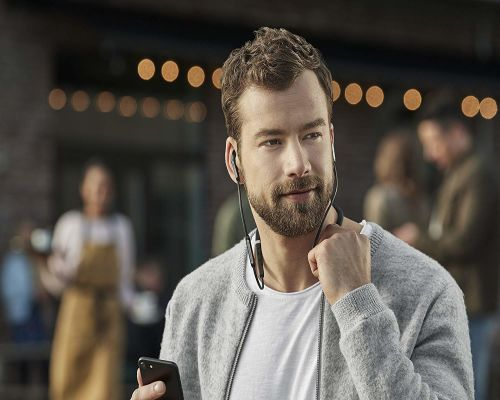 Alexa Enabled Wireless Noise Canceling Earbuds