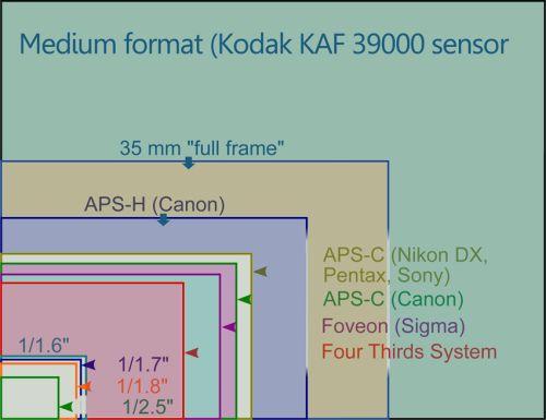 Megapixel and Sensor Size
