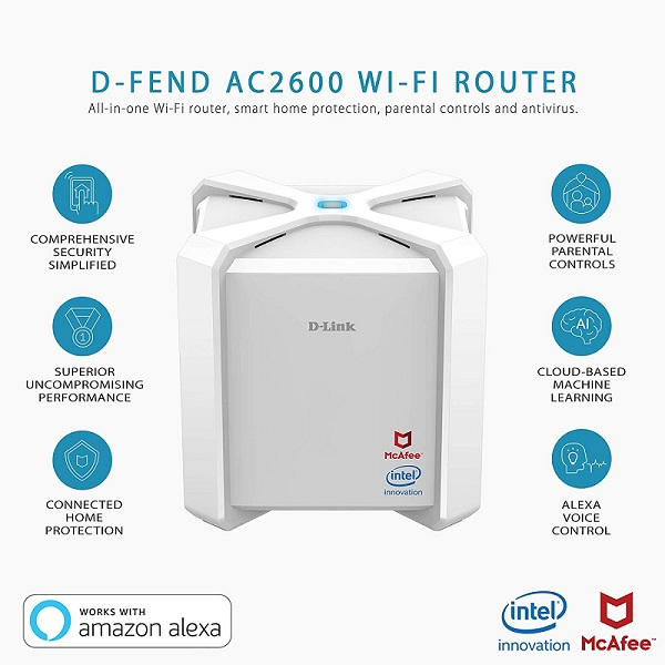 D-Link AC2600 wireless routers