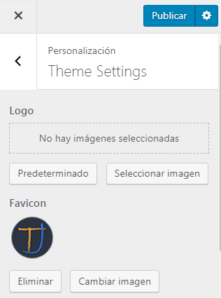 Añadir Favicon en WordPress