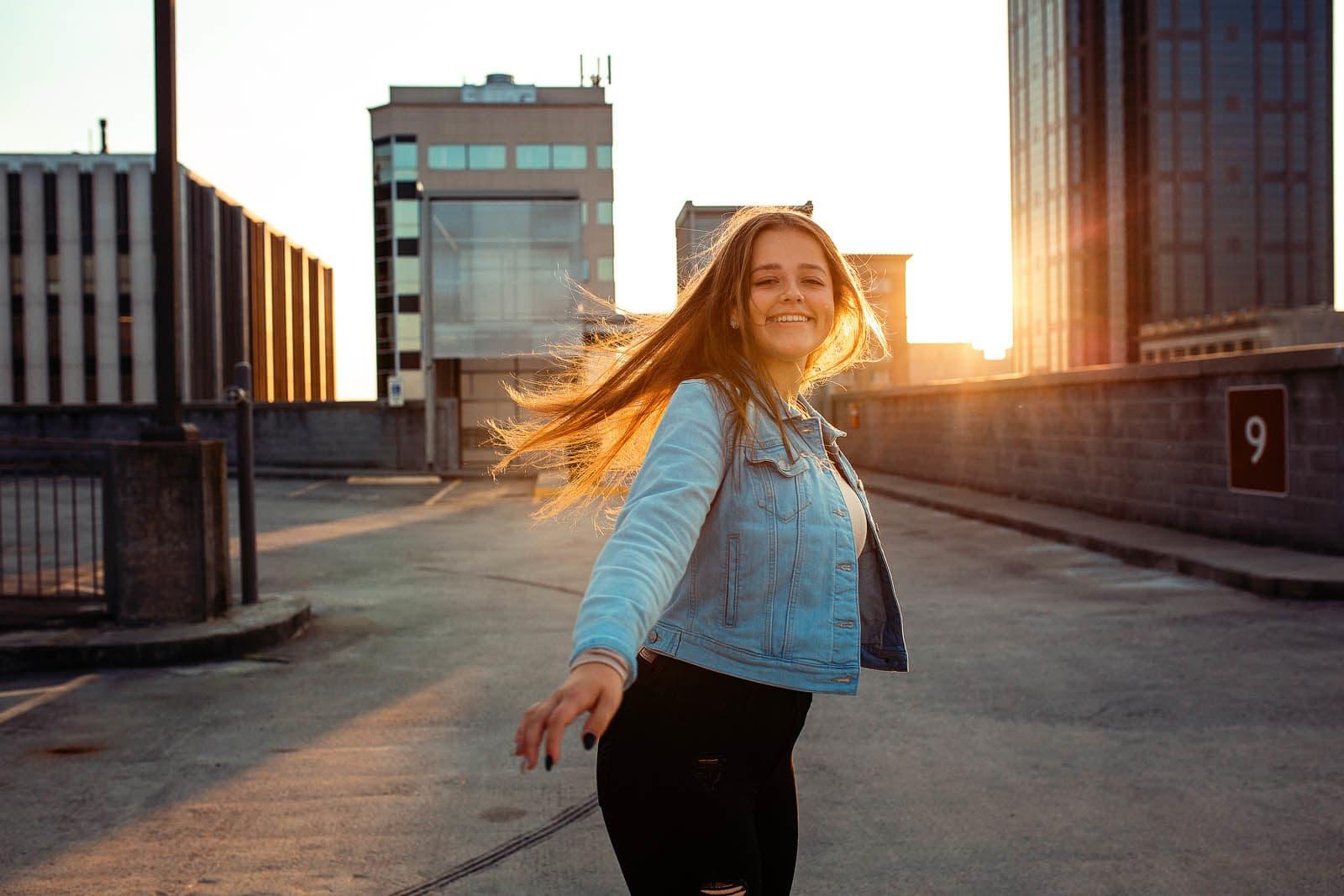senior portrait photographer raleigh