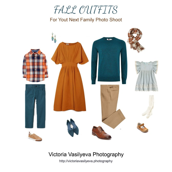 terracotta tela family outfit fall family pictures