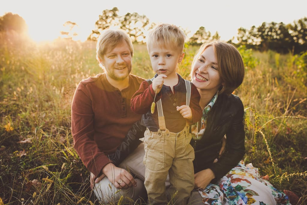 lifestily outdoor family photo session