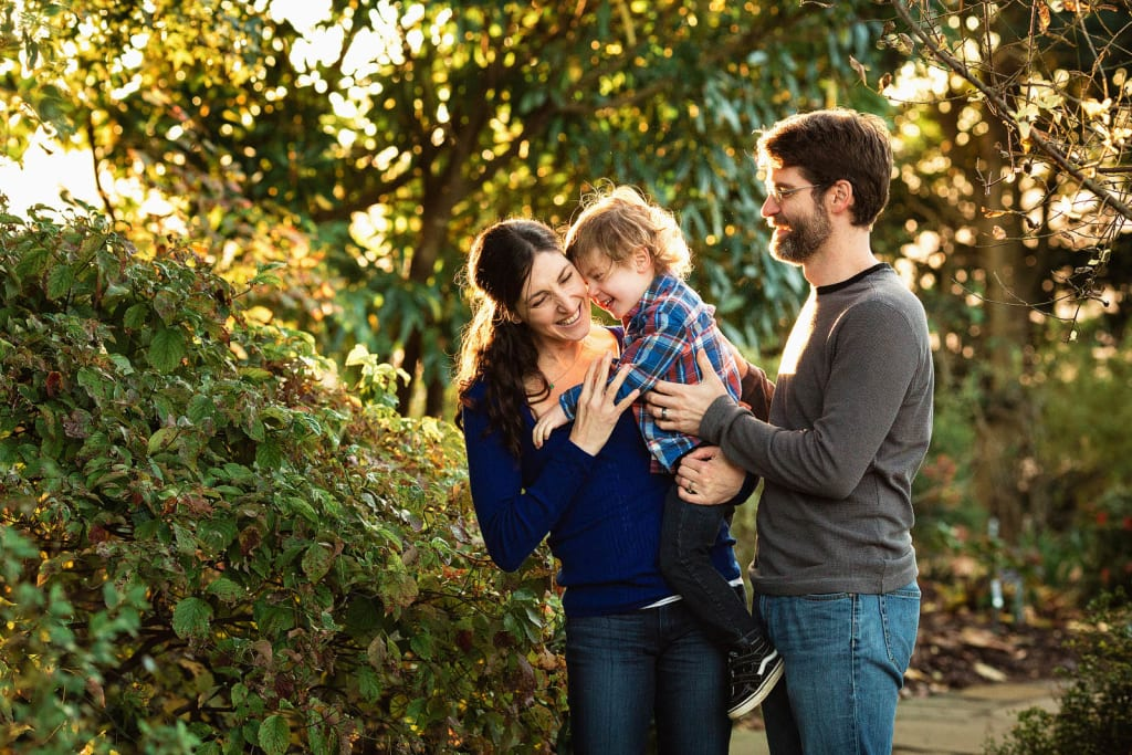 fall family photo shoot