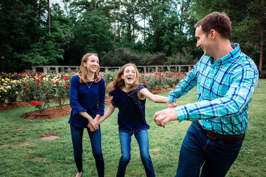 professional photography Rose Garden raleigh nc