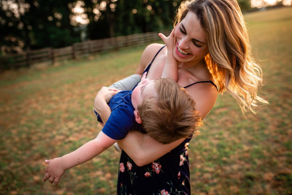 family photographer holly springs mommy and me photo session