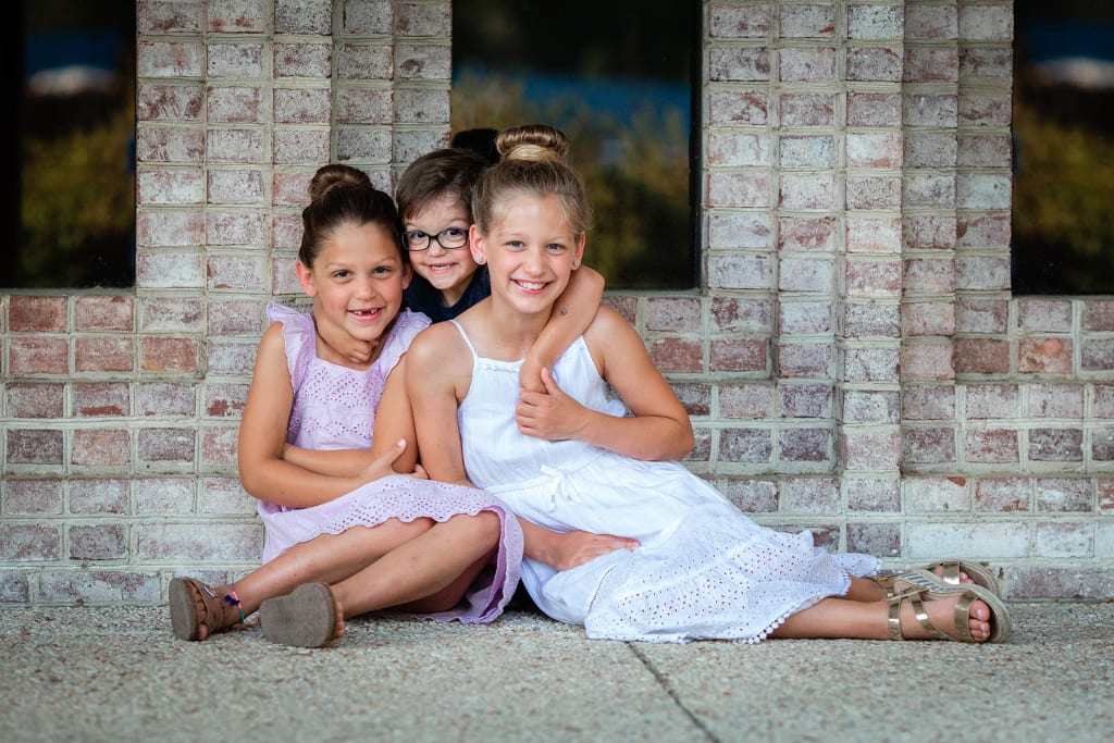 siblings portrait session durham photographer