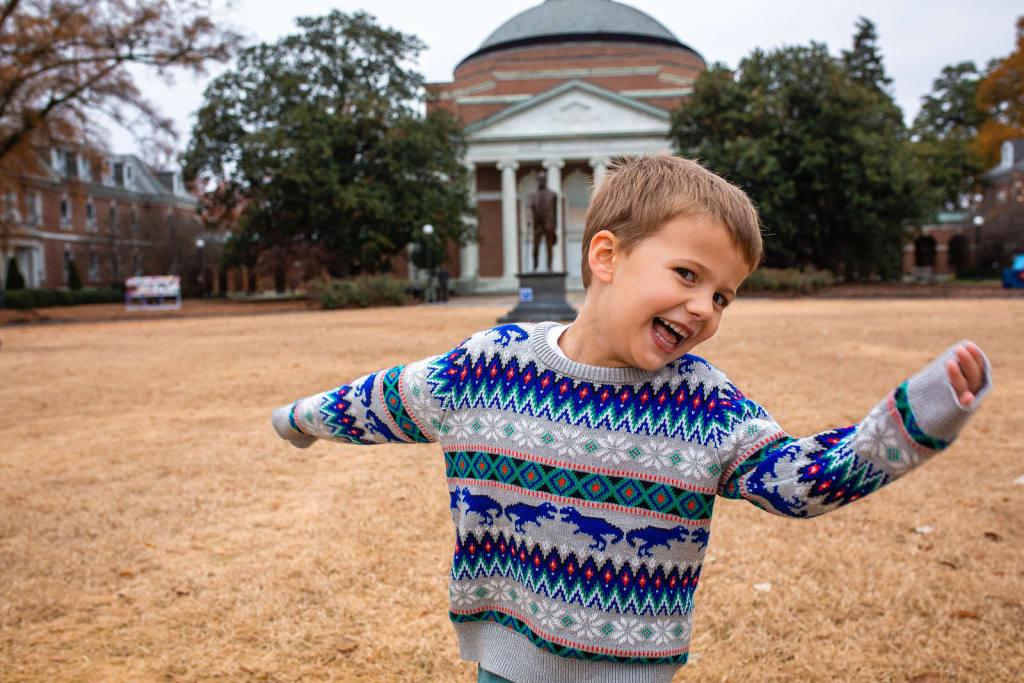 happy boy portrait raleigh photographer