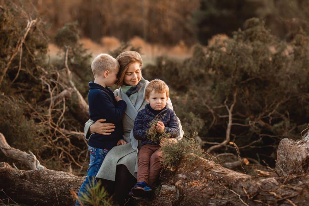 raleigh family photographer photo shoot at sugg farm par