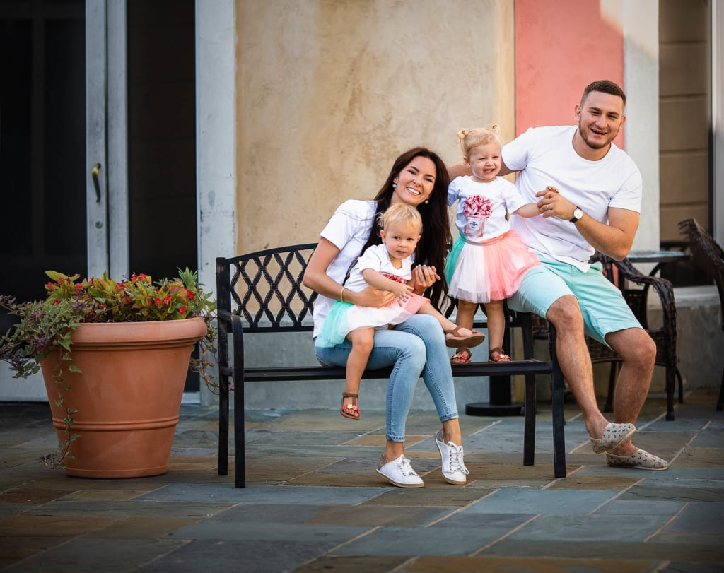lifestyle family photo session raleigh