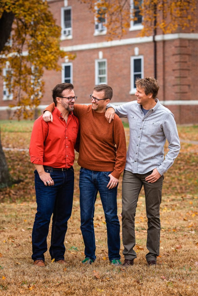 3 brother portrait professional photographer in raleigh