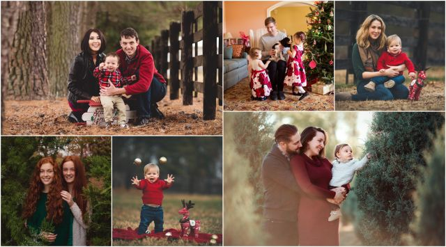 holiday photo session
