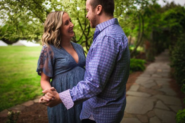 Professional maternity photo session in Raleigh