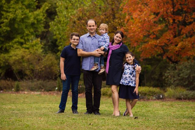 Outdoor Family Photography in Raleigh, NC